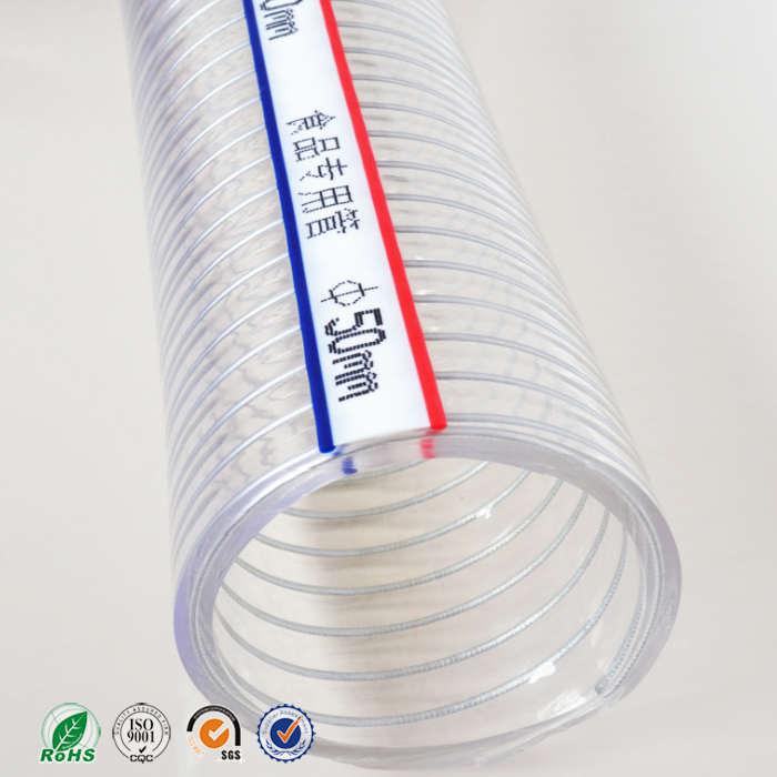 PVC Steel Wire Reinforced Hose, China factory PVC Steel Wire ...