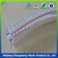 Stainless Steel Wire Reinforced 4 inch PVC Flexible Hose Pipe